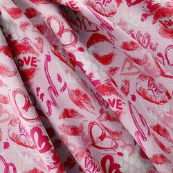 Strukturovaná tkanina – Love