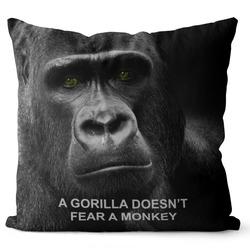 Polštář Gorilla doesn´t fear
