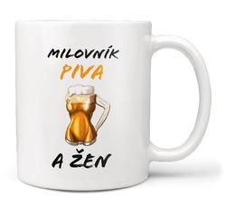 Hrnek Milovník piva a žen