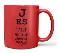 Hrnek Tabule – oční – pivo (FLUO)