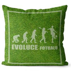 Polštář Evoluce fotbalu