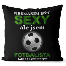 Polštář Sexy fotbalista