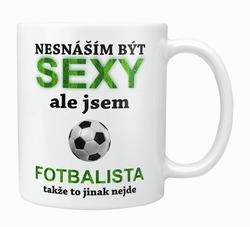 Hrnek Sexy fotbalista
