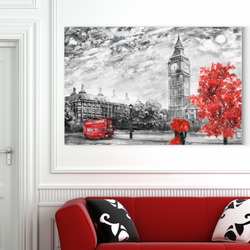 Obraz Londýn Art II