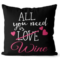 Polštář Wine love