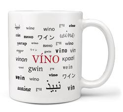 Hrnek Víno – jazyky