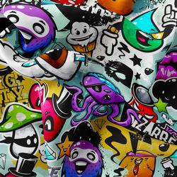 Mikroplyš – Graffiti