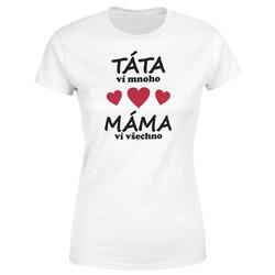 Tričko Máma ví všechno