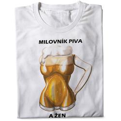 Tričko Milovník piva a žen