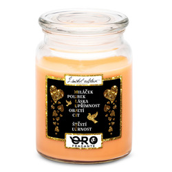 Svíčka Miluji tě – tajenka
