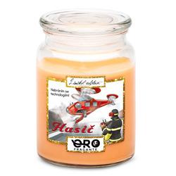 Svíčka Moderní hasič