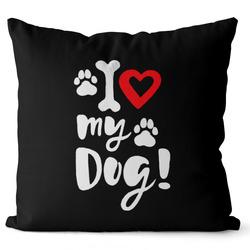 Polštář I love my dog
