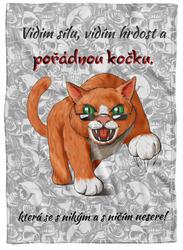 Deka Pořádná kočka