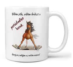 Hrnek Pořádný kůň