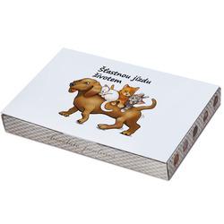 Bonboniera Šťastnou jízdu – pes
