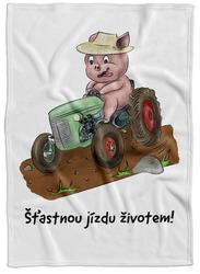 Deka Prasátko a traktor