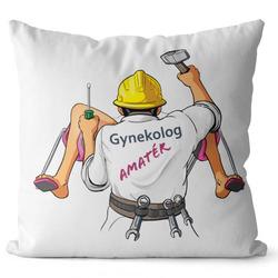 Polštář Gynekolog amatér