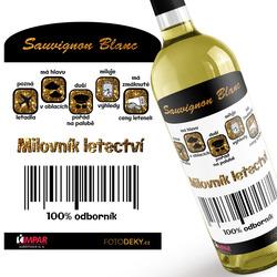 Víno Milovník letectví 100%