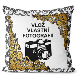 Fotopolštář Retro 40x40 cm