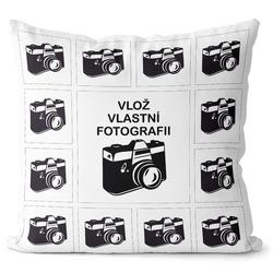 Fotopolštář 13 fotek 40x40 cm