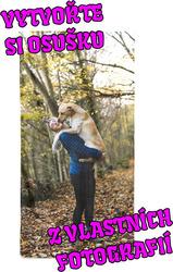 Osuška z vlastních fotografií a textů pro milovníky zvířat