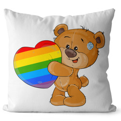 Polštář LGBT Bear