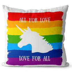 Polštář LGBT Unicorn