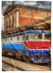Deka Vlak ve stanici