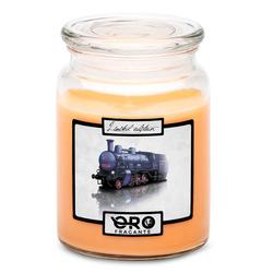 Svíčka Parní lokomotiva