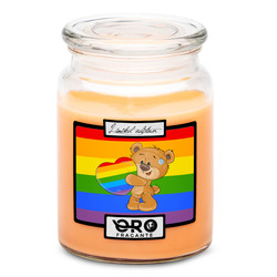 Svíčka LGBT Bear