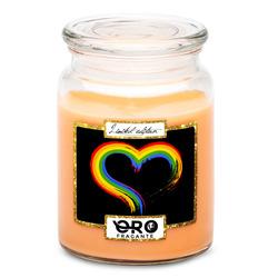Svíčka LGBT Heart