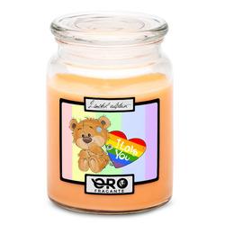 Svíčka LGBT I love you