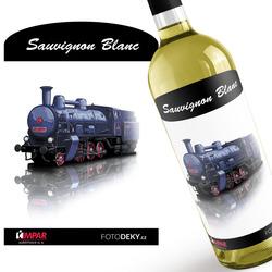 Víno Parní lokomotiva