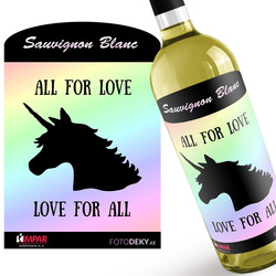 Víno LGBT Unicorn
