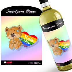 Víno LGBT I love you