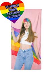 Osuška z vlastních fotografií a textů pro LGBT