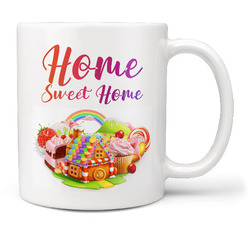Hrnek Home sweet home – candy