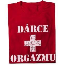Pánské tričko Dárce orgasmu