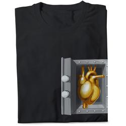 Pánské tričko Zlaté srdce