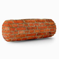 Relaxační polštář – Cihly