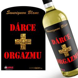 Víno Dárce orgazmu