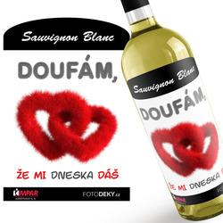 Víno Doufám, že mi dáš