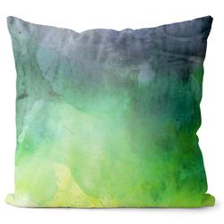 Polštář Watercolor – green