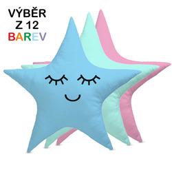 Polštářek – Hvězda (výběr barvy)