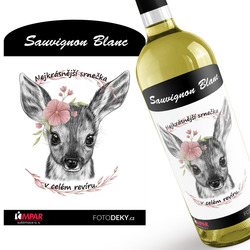 Víno Nejkrásnější srnečka