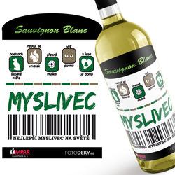 Víno Myslivec 100%