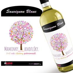 Víno Maminky jsou jako knoflíky