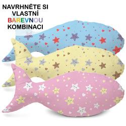 Polštářek – Ryba s hvězdičkami