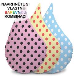 Polštářek – Kapka s puntíky