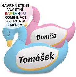 Polštářek - Labuť se jménem
